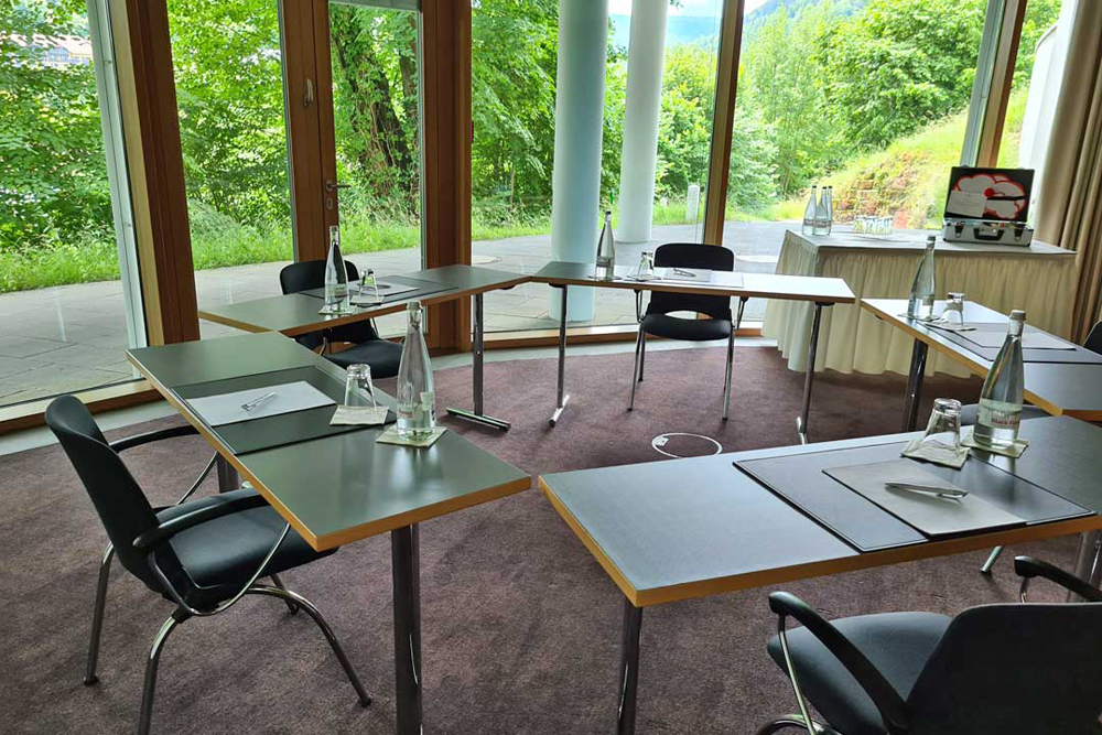 Conference room in the hotel SCHWARZWALD PANORAMA.