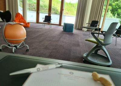 A meeting room at the conference hotel SCHWARZWALD PANORAMA, where the green meetings are a part of the resonance culture